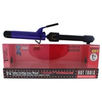 Hot Tools Ceramic Tourmaline Salon Curling Iron/Wand - Model # 2110 - Black/Purple