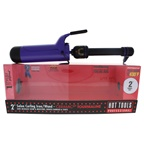 Hot Tools Ceramic Tourmaline Salon Curling Iron/Wand - Model # 2111 - Purple/Black