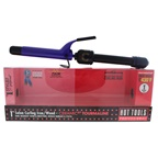 Hot Tools Ceramic Tourmaline Salon Curling Iron/Wand - Model # 2181 - Black/Purple