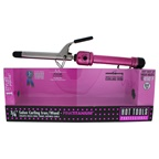 Hot Tools Pink Titanium Salon Curling Iron/Wand - Model # HPK43 - Pink/Silver