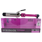 Hot Tools Pink Titanium Salon Curling Iron/Wand - Model # HPK46 - Pink/Silver