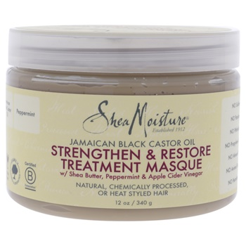 Shea Moisture Jamaican Black Castor Oil Strengthen-Grow & Restore Treatment Masque