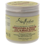 Shea Moisture Jamaican Black Castor Oil Strengthen & Grow Loc & Braid Butter Treatment