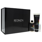 Redken pH Bonder Salon Kit 4 x 4.2oz Bond Protecting Additive, 4 x 8.5oz Fiber Restorative Pre-Wash Concentrate, 1 Professional Dosing Syringe