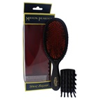 Mason Pearson Extra Small Pure Bristle Brush - B2 Dark Ruby Hair Brush and Cleaning Brush