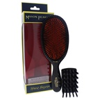 Mason Pearson Extra Large Pure Bristle Brush - B1 Dark Ruby Hair Brush and Cleaning Brush