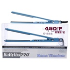 BaBylissPRO Nano Titanium Ultra Thin Flat Iron - Model BNT3072C - Blue