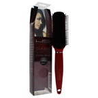 HSI Professional Classic 9 Row Flat Brush - Model # 3 Red Hair Brush