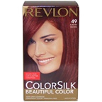 Revlon colorsilk Beautiful Color #49 Auburn Brown Hair Color