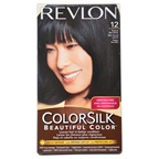 Revlon colorsilk Beautiful Color #12 Natural Blue Black Hair Color