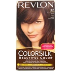 Revlon colorsilk Beautiful Color #32 Dark Mahogany Brown Hair Color