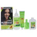 Garnier Nutrisse Nourishing Color Creme #10 Black Hair Color
