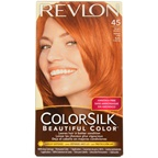 Revlon colorsilk Beautiful Color #45 Bright Auburn Hair Color