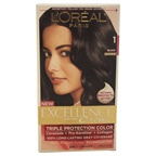 L'Oreal Paris Excellence Creme Pro - Keratine # 1 Black - Natural Hair Color