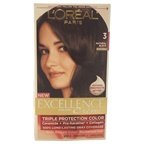 L'Oreal Paris Excellence Creme Pro - Keratine # 3 Natural Black - Natural Hair Color