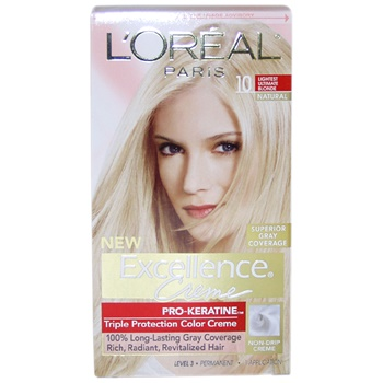 L'Oreal Paris Excellence Creme Pro - Keratine # 10 Light Ultimate Blonde - Natural Hair Color
