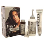 L'Oreal Paris Feria Multi-Faceted Shimmering Color 3X Highlights # 20 Black - Natural Hair Color