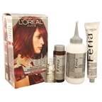 L'Oreal Paris Feria Multi-Faceted Shimmering Color 3X Highlights # 56 Auburn Brown - Warmer Hair Color