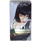 L'Oreal Paris Feria Multi-Faceted Shimmering Color 3X Highlights # 21 Bright Black - Cooler Hair Color