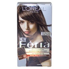 L'Oreal Paris Feria Multi-Faceted Shimmering Color 3X Highlights # 40 Deeply Brown - Natural Hair Color