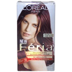 L'Oreal Feria Multi-Faceted Shimmering Color - 36 Deep Burgundy Brown-Warmer Hair Color
