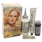 L'Oreal Feria Multi-Faceted Shimmering Color - 100 Very Light Blonde- Natural Hair Color