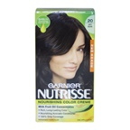 Garnier Nutrisse Nourishing Color Creme # 20 Soft Black Hair Color