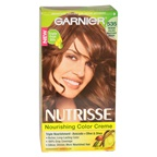 Garnier Nutrisse Nourishing Color Creme # 535 Medium Golden Mahogany Brown Hair Color