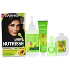 Garnier Garnier Nutrisse Permanent Haircolor, 30 Darkest Brown Sweet Cola Hair color