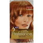 L'Oreal Superior Preference - 7LA Lightest Auburn (Warmer) Hair Color