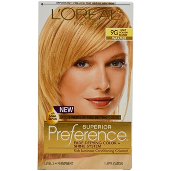 L'Oreal Paris Superior Preference - 9G Light Golden Blonde Hair Color