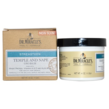 Dr. Miracle's Temple and Nape Gro Balm