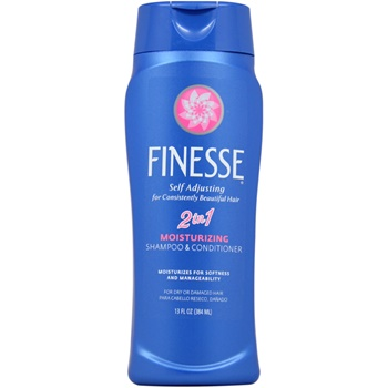 Finesse Self Adjusting 2 in 1 Moisturizing Shampoo and Conditioner