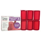 Caruso Caruso Professional Molecular Steam Rollers - Model # CR0674904 - Red Jumbo Rollers