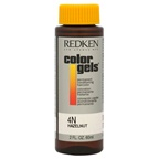 Redken Color Gels Permanent Conditioning Haircolor 4N - Hazelnut Hair Color