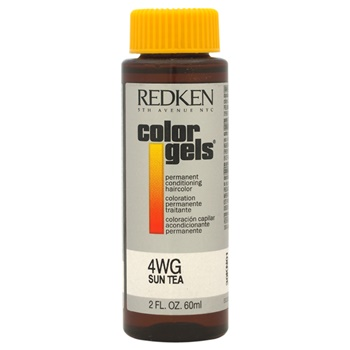 Redken Color Gels Permanent Conditioning Haircolor 4WG - Sun Tea Hair Color