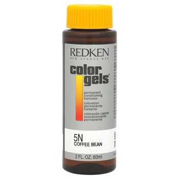 Redken Color Gels Permanent Conditioning Haircolor 5N - Coffee Bean Hair Color