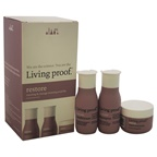 Living Proof Restore Repairing & Damage Reversing Travel Kit 2oz Restore Shampoo, 2oz Restore Conditioner, 1oz Restore Mask Treatment