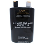 Sebastian Professional Light Weightless Shine Kit 33.8 oz Shampoo, 33.8 oz Conditioner