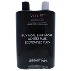 Sebastian Volupt Volume Boosting Kit 33.8 oz Shampoo, 33.8 oz Conditioner