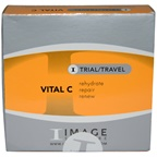Image Vital C Travel Kit 0.25oz Cleanser, 0.25oz Anti-Aging Serum, 0.25oz Moisturizer SPF 30, 0.25oz Repair Creme, 0.25oz Masque