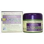 Avalon Organics Ultimate Night Cream Lavender Cream