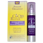 Avalon Organics CoQ10 Repair Wrinkle Defense Creme Broad Spectrum SPF15 Cream