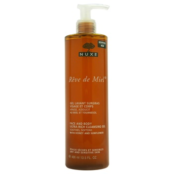 Nuxe Reve de Miel - Face and Body Ultra-Rich Cleansing Gel
