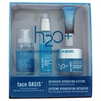 H2O+ Oasis Intensive Hydration System 1.7oz Oasis Mist, 0.85oz Hydrating Booster, 0.24oz Eye Moisture Replenishing Treatment, 1.7oz Face Hydrating Treatment