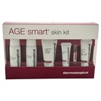 Dermalogica Age Smart Skin Starter Kit Skin Resurfacing Cleanser, MultiVitamin Power Recovery Masque, Antioxidant HydraMist, MAP-15 Regenerator, Dynamic Skin Recovery SPF50, MultiVitamin Power Firm