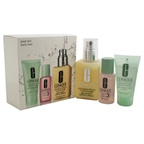 Clinique 3-Step Skincare Introduction Kit - Combination Oily Skin Type 1oz Liquid Facial Soap Oily Skin Formula, 1oz Clarifying Lotion # 3, 4.2oz Dramatically Different Moisturizing Gel