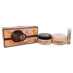 The Body Shop Vitamin E Essentials Travel Exclusive 1.7oz Moisture Cream, 1.67oz Nourishing Night Cream, 0.14oz Lip Care SPF 15
