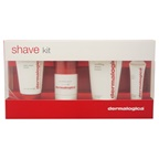 Dermalogica Shave System Kit 1.5oz Daily Clean Scrub, 1oz Pre-Shave Guard, 2.5oz Soothing Shave Cream, 0.33oz Post-Shave Blam