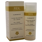 Ren Clarimatte T-Zone Balancing Gel Cream - Combination To Oily Skin Gel & Cream